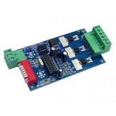 3CH Channel Easy DMX LED Controller Dmx Decoder WS-DMX-2KEY-3CH-BAN Driver