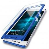 2 Pcs Full Cover Phone Case For Xiaomi Mi 5 6 Mi 5S 5SPlus Cover Screen Protector Glass Cover For Xiaomi Mi6 Mi5 Phone Case