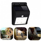 New 6/30 LED COB Solar Power PIR Motion Sensor Wall Light Outdoor Waterproof Garden Lamp Outdoor Lighting APE PML