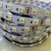New arrival 4 colors in 1 led RGBW LED Strip Waterproof 24V 12V 5050 Smd 60LED/m 5m/Roll RGBW LED Strip Light Free Shipping