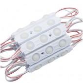 20pcs 5630 LED Module DC12V 3 LEDs Waterproof IP65 1.5W LED Sign for shop banner