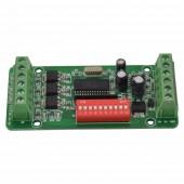 Easy 3CH BAN DMX Controller DMX512 RGB Decoder Driver