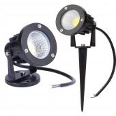 COB Garden Lawn Lamp Light DC 12V Outdoor LED Spike Light 7W Path Landscape Waterproof Spot Bulbs