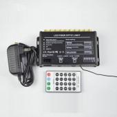 fiber optic shooting star light 5W white LED engine + 300pcs fibers + remote control
