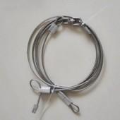新款304不锈钢3毫米3米加转环带锁头