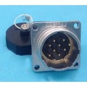 Original Weipu Connector WS32 Male Z Connector 4 6 8 10 10B 11 12 13 19 Pin Square Flange Panel Mount Male Socket Z