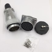 Original Weipu Connector WS40 TQ + Z 5 9 15 26 31 Pin Male TQ Sleeve Cable Plug Female Z Square Flange Panel Mount Socket