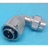 Original Weipu Connector WY16 TU Male Plug 2 3 4 5 7 9 10 Pin TU Male Angled Clamping Cable Plug