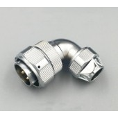 Original WEIPU Connector WY28 Elbow 2 3 4 7 10 12 16 17 20 24 26 Pin IP67 TU Angled Clamping Cable Male Plug