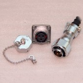 Original WEIPU WY28 Connector 2 3 4 7 10 12 16 17 20 24 26 Pin IP67 TI Sleeve Cable Male Plug Female Z Square Flange Socket