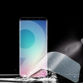3 Pcs Screen Protector on the For Samsung Galaxy S9 S9Plus S8 S8Plus Note 8 S7 Edge Not Glass 0.18mm 3D Soft S9 Protective film