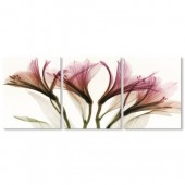 3 Panels Triptych Set Flower Painting Giclee Prints Artwork Elegant Floral Still Life Print Picture 24 x 24 Inch x3pcs