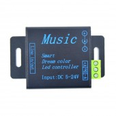 DC5-24V 250 Pixels Smart Music Controller for WS2812B WS2811 LED Strip
