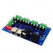 12ch Easy Dmx512 Controller Decoder 4 Groups RGB Control