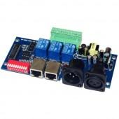 DMX512 Relays 5A*3CH Led Decoder Controller DMX-RELAY-3CH-KA-BAN