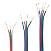 10M 2pin 3pin 4pin 5pin 22AWG Led Strip Cable Extension Extend Wire Cord