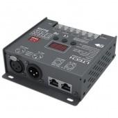DMX to PWM Decoder 4CH (XLR-3, RJ45) CV LT-904 LTECH