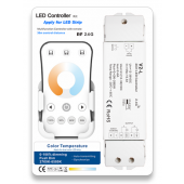 Skydance Led Controller 8A*2CH Color Temperature LED Controller Kit V2-L + R7-1
