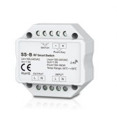 Skydance Led Controller Non-Dimmable 100-240VAC 1.5A RF 2.4GHz & Push switch SS-B