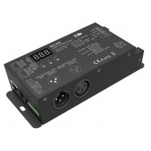 Skydance Led Controller 3CH*1.5A 110-240VAC RF2.4GHz DMX Decoder S3-DX
