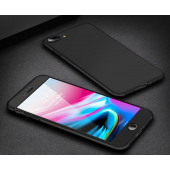 3 PCS Luxury 360 Full Cover Phone Case For iPhone 7 8 6 6s Plus 5 5s SE Matte PC Cover For iPhone X XR XS Max Case With Glass