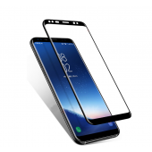 2 Pcs 5D Curved Edge Full Cover Screen Protector For Samsung Galaxy S9 S8 Plus Note 8 Tempered Glass On The S9 S8 Glass Film