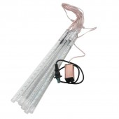 Waterproof Decorative Meteor Shower Rain Tube 2835 LED String Light 30CM / 50CM / 80CM