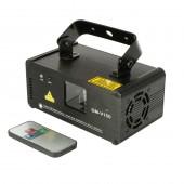150mw Violet Purple Laser Line Scanner Projector Professional Stage Lighting Effect DMX512 DJ Xmas Party Disco Show Light