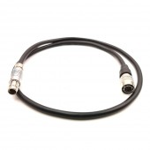 RS 0F 3Pin Male to Hirose 4Pin female for SamII HD AC7 / DP7-PRO Power Cable