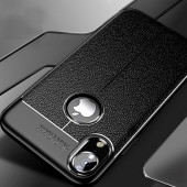 Silicone Soft Case For iphone X Xr Xs Max Luxury Leather PU Full Cover For iphone 7 8 6 6s PLus Shockproof Bumper Case