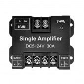 30A Single Channel LED Amplifier Power Repeater 5-24V