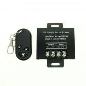 DC 12V 24V 20A LED Dimmer Controller 3Key Wirelss RF Remote Control