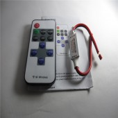 Led Controller Wireless DC 5-24V mini Dimmer RF Remote Control 2pcs