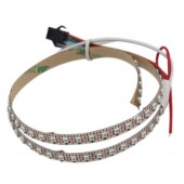 SK6805(Similar to SK6812) SMD2427 RGB 144LEDS/M DC5V Ultra Slim 5MM-Wide Digital Intelligent Addressable LED Strip Lights - 1m/3.28ft per roll