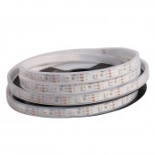 SK9822(Similar to APA102) RGB 30LEDS/M DC5V 10MM-Wide Digital Intelligent Addressable LED Strip Lights - 5m/16.4ft per roll