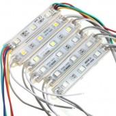 SMD 5050 LED Modules IP65 Waterproof DC 12V 3 Leds Sign Led Backlights 20pcs