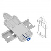 SONOFF DR DIN Rail Tray Adjustable Mounted Rail Case Holder For Wifi Remote Control Switch Sonoff Basic/RF/ Pow/ TH10/16