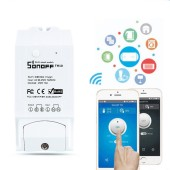 Sonoff TH10 Smart Switch Controller With Temperature Sensor And Water Proof Humidity Monitoring