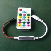 SP104E RF LED Controller + Wireless Remote for APA102/WS2812B/WS2811 Lights
