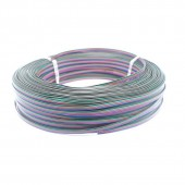 100M 4 Pin RGB Led Connector 4 Wire Electric Extension Cable Cord Lighting for RGB 3528 and 5050 LED Strip