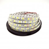 DC 24V Waterproof Led Strip 5050 FLEXIBLE LIGHT 60led/M 5M/ROLL White Warm WHITE Red Green Blue RGB Free 2Pcs