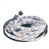 5M 5050 RGB White PCB 300 LED 60led/m SMD DC 12V Flexible Light Strip 2Pcs