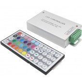 DC 12V 12A 144W 44 Key LED IR Remote Controller For RGB SMD 5050 3528 LED Strip Light With Auto Memorizing Function