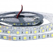 DC 24V Led Strip 5050 SMD 5M 300led 60led/M white/Warm white/Cool white Flexible Led Ribbon Non-waterproof Indoor Decor 2Pcs
