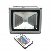 RGB LED Flood Light 10W 30W 50W 100W Floodlight Waterproof