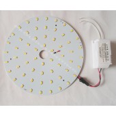 Round Surface Mounted 20W 30W 40W LED circular tube LED panel PCB disc LED warm white cool white 220V 230V 240V