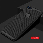 Ultra Slim Grid Heat Dissipate Phone Case For iPhone 11 Pro Max Matte Hard PC Cover Case for iPhone X Xr Xs Max 6 6s 7 8 Plus