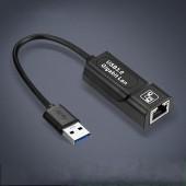 USB 3.0 2.0 / Typc C USB Rj45 Lan Ethernet Adapter Network Card to RJ45 Lan Ethernet Adapter for Windows 10 Macbook Xiaomi Mi P