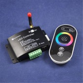 Wifi RF Remote 433.92Mhz DC12-24V 12A RGB Smartphone Smart Wireless LED Lighting Wifi Controller for Strips Light