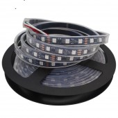 WS2811 led strip 60 leds/m,20 pcs ws2811 ic/meter,DC12V White/Black PCB, 2811 led strip Addressable Digital 5m